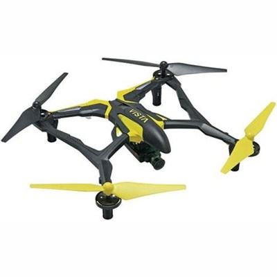 Vista FPV UAV Quadcopter RTF Drone for Smartphones Live Stream HD Cam (Yellow)