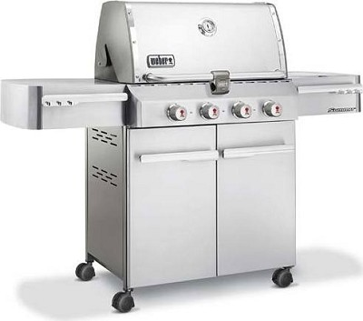7120001 Summit S-420 LP Gas Grill - Stainless Steel