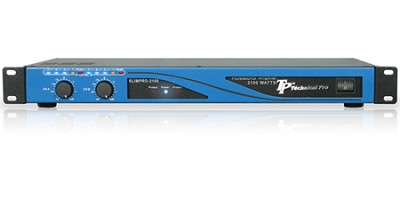 SLIMPRO-2100 TP Pro 1U Amplifier 2100 Watts (Blue)
