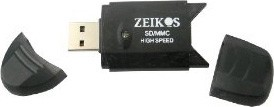 ZE-SDR5 Hi-Speed USB 2.0 SD/SDHC/MMC Flash Memory Card Reader & Writer