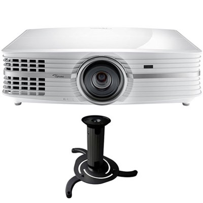 UHD60 4K Ultra High Definition Home Theater Video Projector w/ Ceiling Bracket