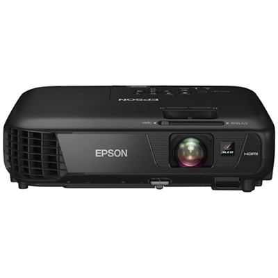 EX5250 Pro Wireless 3600 Lumen Color/White Brightness 3LCD Projector Refurbished