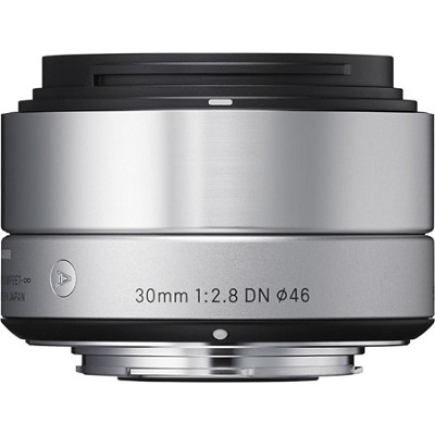 30mm F2.8 EX DN ART Lens for Micro Four Thirds (Silver)