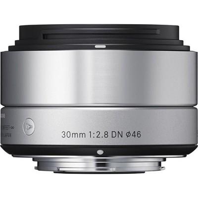 30mm F2.8 EX DN ART Lens for Micro Four Thirds (Silver)