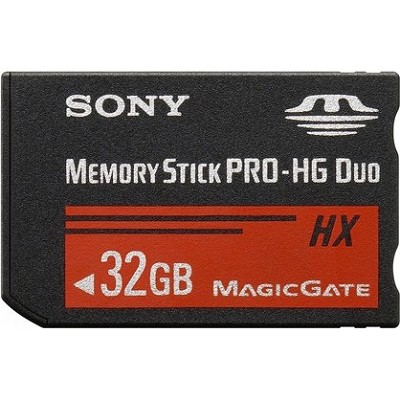 32 GB Memory Stick PRO-HG DUO HX High Speed