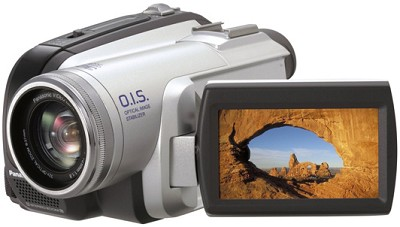 PV-GS80 Ultra-Compact Mini-DV Camcorder 32x Optical, 2.7` LCD (Refurbished)