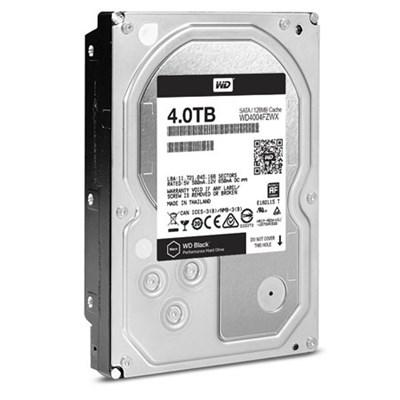 WD4004FZW 4TB 3.5` Internal Hard Drive - 7200 RPM SATA III 128 MB (OEM) - Black