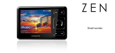 Creative ZEN 16GB MP3/ Multi Player