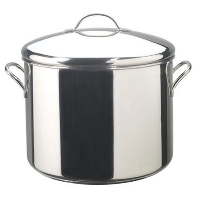 Classic Stainless Steel Covered Stockpot -16-Quart
