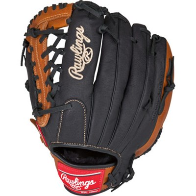 Prodigy Series Youth Baseball Glove, 11.50in Left Hand Throw, Black