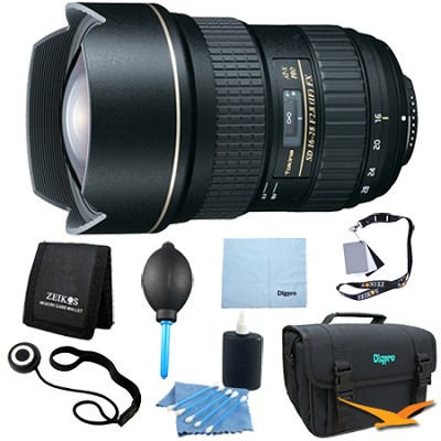 ATX168PROFXN - 16-28mm f2.8 FX Lens for Nikon - Lens Kit Bundle