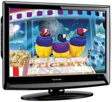 22` High Definition LCD TV with Built-in DVD Player