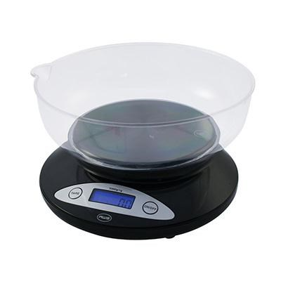 Digital Kitchen Bowl Scale Blk