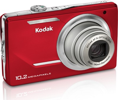 EasyShare M380 10.2 MP 3.0` LCD 5x Zoom Digital Camera (Red)