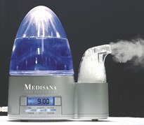 PERSONAL HUMIDIFIER ULTRA SONIC BLUE NIGHT LIGHT