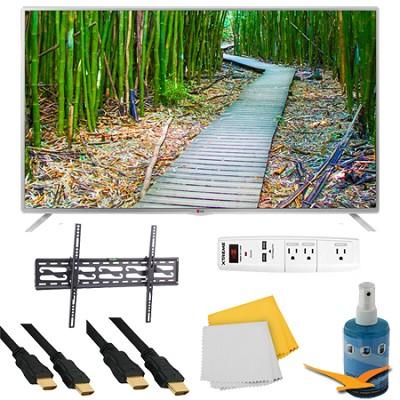39` 1080p 60Hz Smart Direct LED HDTV Plus Tilting Mount HookUp Bundle (39LB5800)