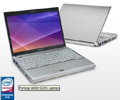 Portege A600-S2201 12.1` Notebook PC (PPA60U-007008)
