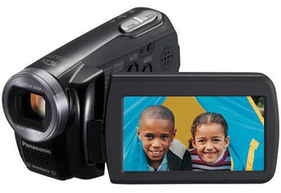 SDR-S7K SD Camcorder w/ 10x Optical Zoom (Black)
