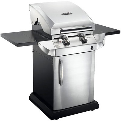 Performance T-22D TRU Infrared, 340 sq. inch, Urban Gas Grill w/ Folding Shelves