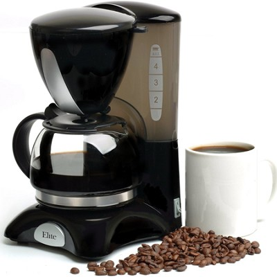 EHC-2022 Elite Cuisine 4-Cup Elite Cuisine Coffee Maker with Pause and Serve