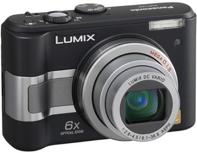 DMC-LZ5K (Black) Lumix 6-Megapixel Compact Digital Camera (Refurbished)