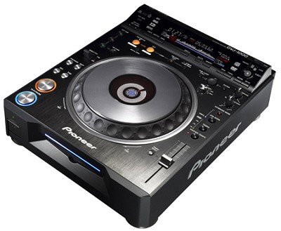 DVJ-1000 Professional CD/DVD/MP3 Turntable