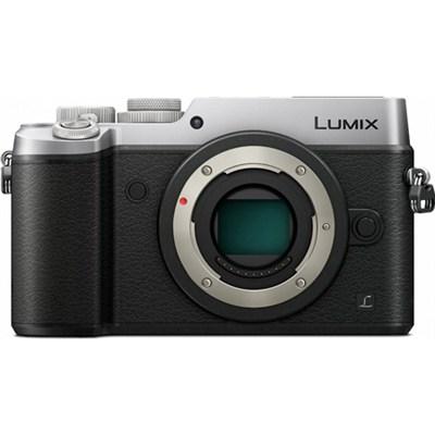 DMC-GX8SBODY LUMIX GX8 4K Interchangeable Lens (DSLM) Body - Silver - OPEN BOX