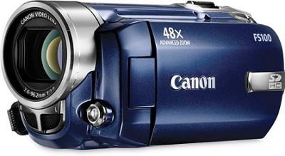 FS100 Flash Memory Camcorder (Blue)