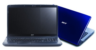 Aspire 17.3 inch  Notebook - Gemstone blue (AS7736Z-4015)