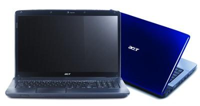 Aspire 17.3 inch  Notebook - Gemstone blue (AS7736Z-4015)