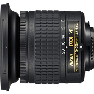 AF-P DX NIKKOR 10-20mm f/4.5-5.6G VR Lens (20067) Refurbished