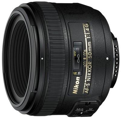 AF-S NIKKOR 50mm f1.4G Lens, With Nikon 5-Year USA Warranty