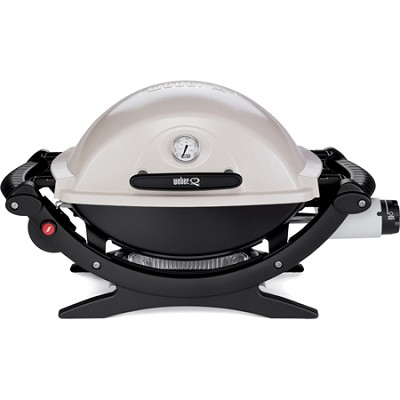 Q 120 Portable 189-Square-Inch 8500-BTU Gas Grill with Electronic Ignition