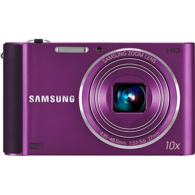 ST200F 16 MP 10X Wi-Fi Digital Camera - Plum