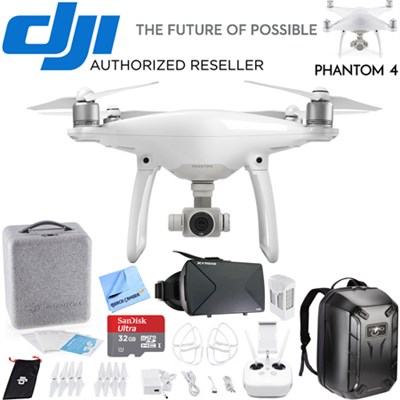 Phantom 4 Quadcopter Drone FPV Virtual Reality Experience w/ Hardshell Backpack