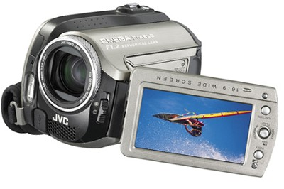 GZMG255 - Everio Hybrid Camcorder with 30GB HDD,10x Optical Zoom and Dock