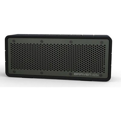 625s Bluetooth Speakerphone and Charger for iPhone, iPod, iPad (Black/Gray)