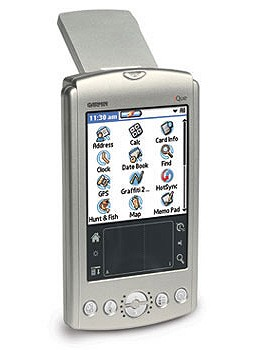 iQue 3200 Handheld Pocket PC w/ Intergrated GPS and Antenna