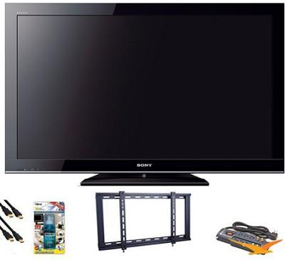 KDL40BX450 - 40` 1080p LCD HDTV Value Bundle