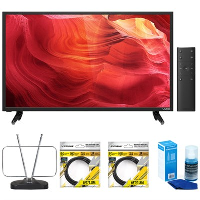 E50-D1 50-Inch SmartCast E-Series LED Smart HDTV with Accessories Kit