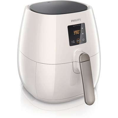 Digital AirFryer with Rapid Air Technology, White - Factory Refurbished
