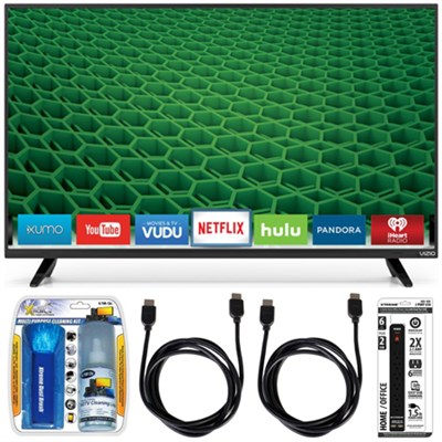 D39h-D0 D-Series 39` Class Full Array HD LED Smart TV Essential Accessory Bundle