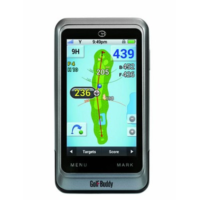 GB3-PT4 - Golf GPS Adjustable Rangefinder, Silver