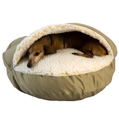 Cozy Cave Bed - Khaki