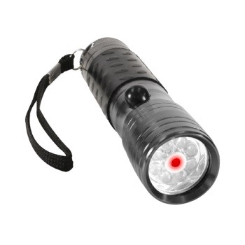 Flashlight with 8 High Intensity LED's and Laser Pointer