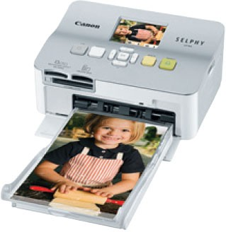 SELPHY CP780 Compact Photo Printer Silver