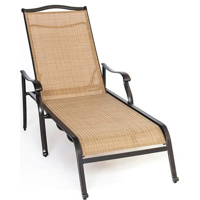 Monaco Sling Chaise Lounge Chair