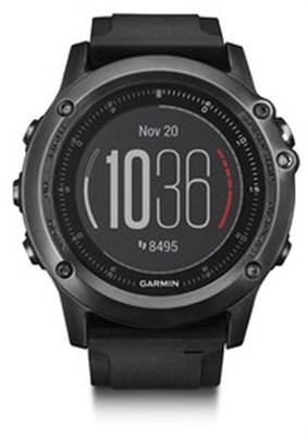 Fenix 3 HR GPS Watch w/ Heart Rate Monitor - Gray (010-01338-70)