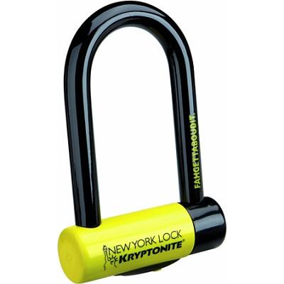 New York Fahgettaboudit Mini Bicycle U-Lock w/ 3 Keys (997986)