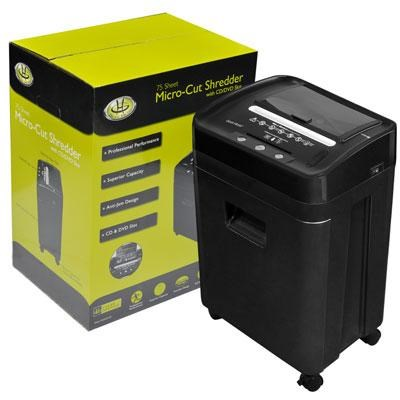 75 Sheet Micro Cut Shredder